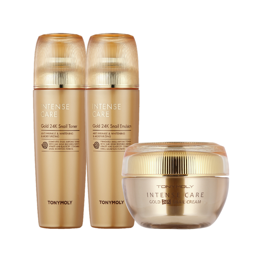 INTENSE CARE 24K SNAIL 3 SET