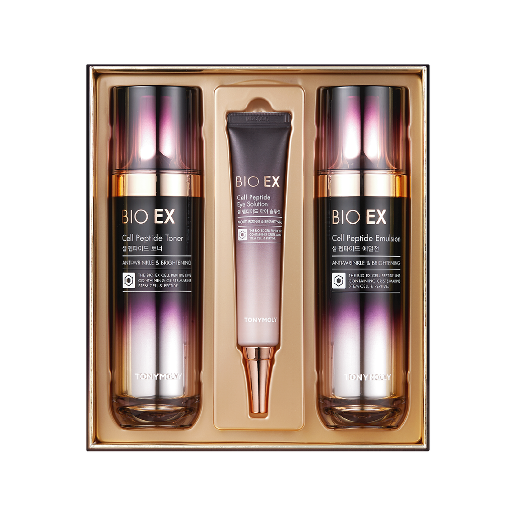 BIO EX CELL PEPTIDE SPECIAL SET (TONER, EMULSION & EYE CREAM)