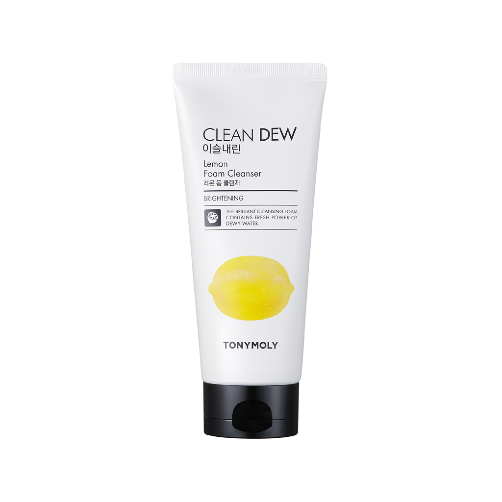 CLEAN DEW LEMON FOAM CLEANSER