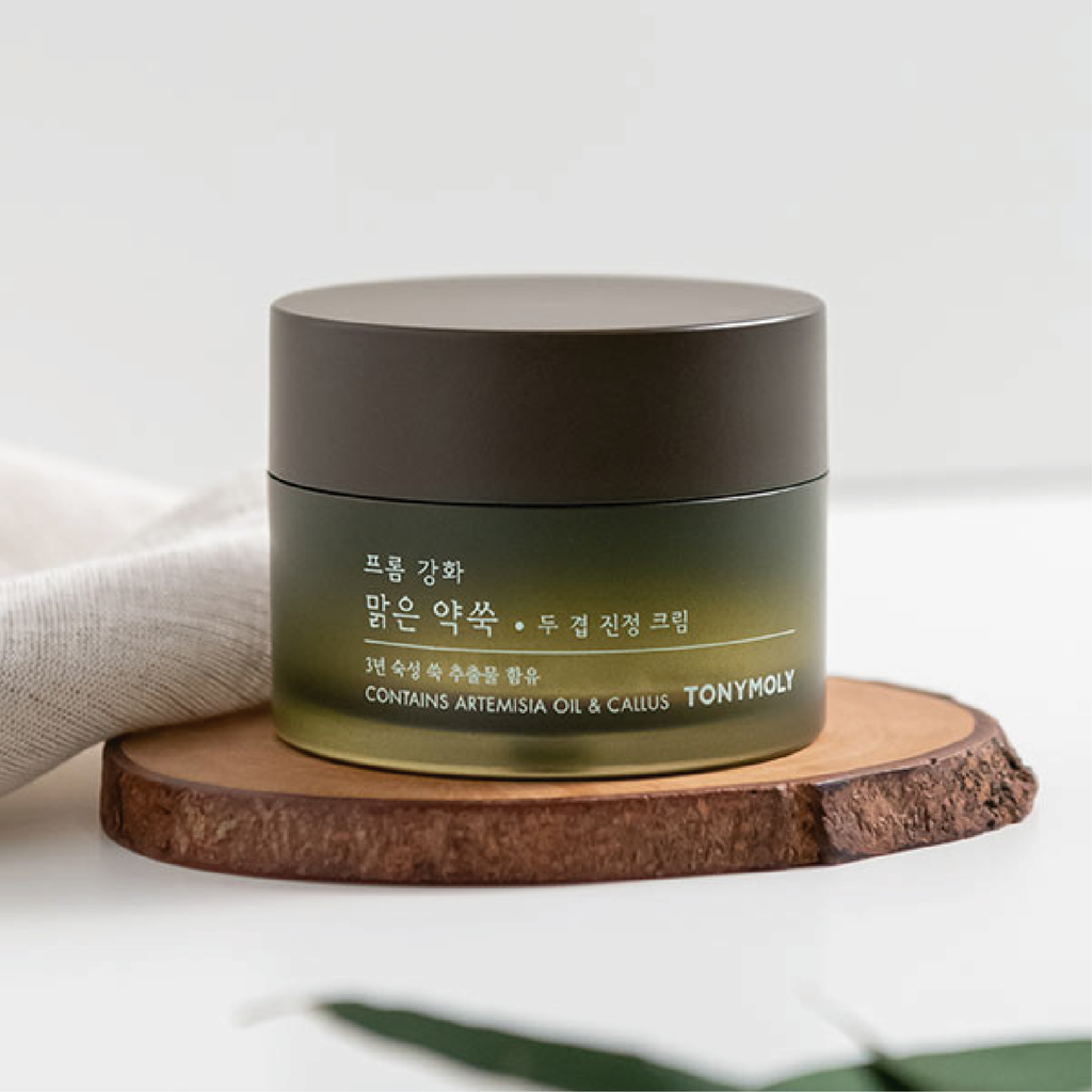 FROM GANGHWA PURE ARTEMISIA TWO LAYERING CALMING CREAM