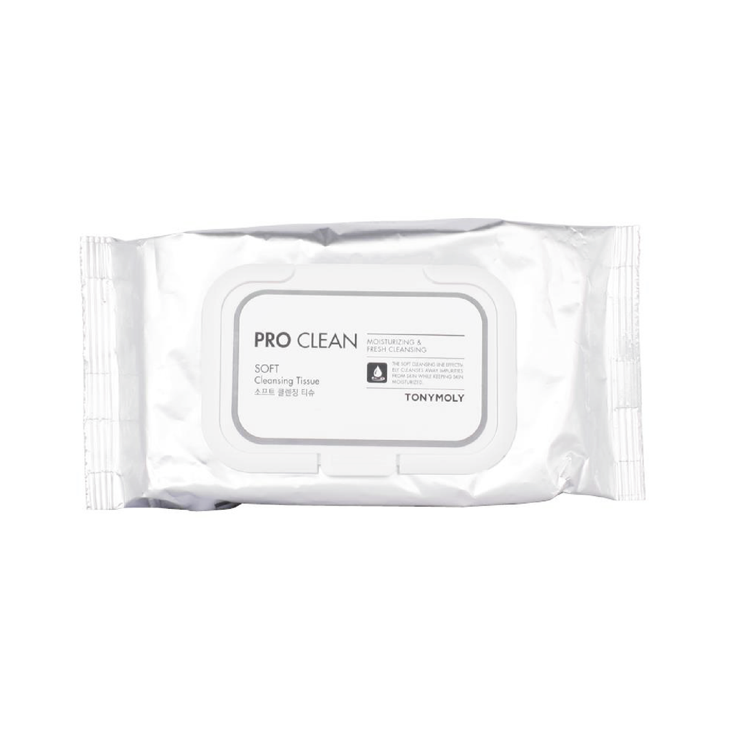 PRO CLEAN SOFT CLEANSING TISSUE 50 SHEETS
