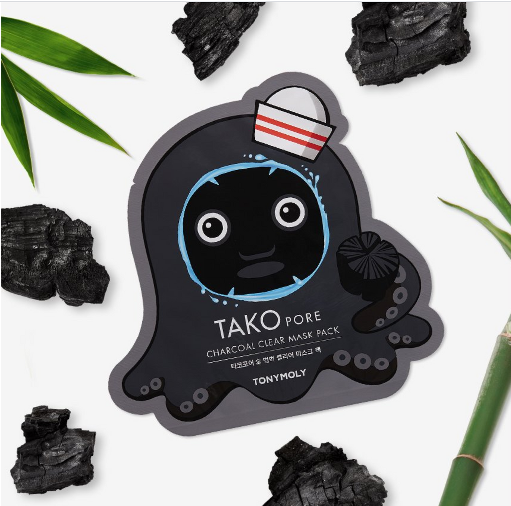 TAKOPORE CHARCOAL CLEAR MASK PACK (SET OF 2)