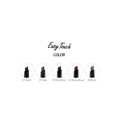 EASY TOUCH AUTO EYEBROW 5 COLOURS