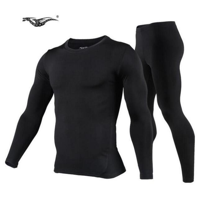 Men's Fleece Thermal Outdoor Sports Underwear