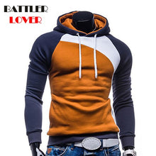Load image into Gallery viewer, Men's Patchwork Hoodies