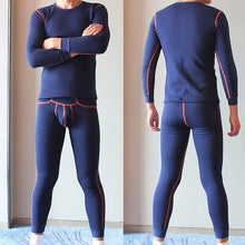 Load image into Gallery viewer, Men's Fleece Thermal Tops and Leggings