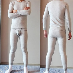 Men's Fleece Thermal Tops and Leggings