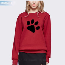 Load image into Gallery viewer, Cute Footprint Printed Hoodies
