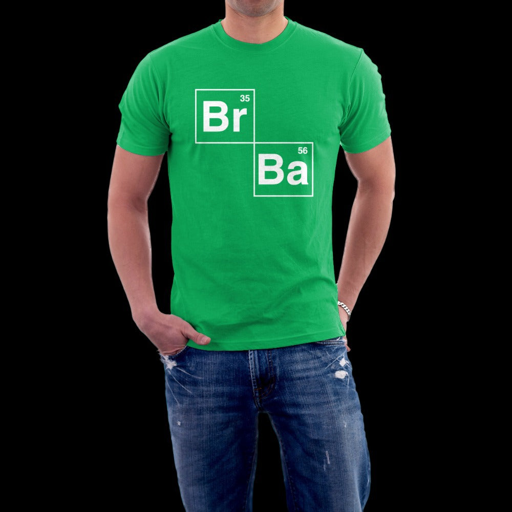 Breaking Bad Men's Green Ringspun