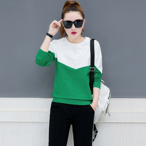 Women's Round Collar Fleece Two-Piece