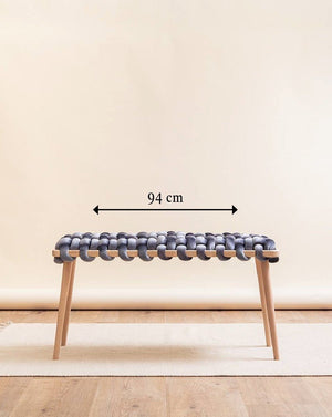 Medium Double Seat Knot Bench- 3 Color Variants