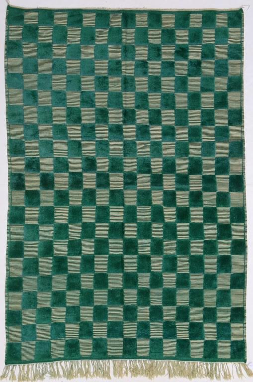 Kelly Checkered Moroccan Rug 9' x 6'