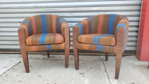 Moroccan Barrel Chair in Various Fabrics