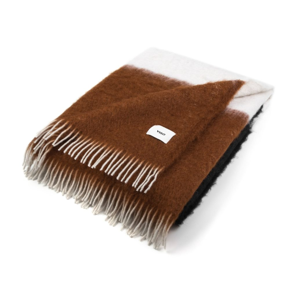 Brown Mohair Blanket