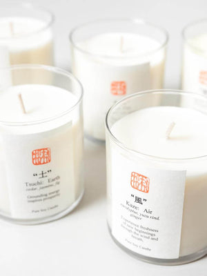 Eastern Accents-5 Elements Candles