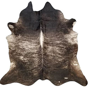 Dark Brindle Exotic Brazilian Cowhide