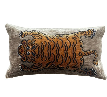 Tibet Tiger Pillow- 2 color variants