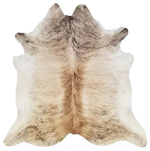 Light Brindle Exotic Brazilian Cowhide