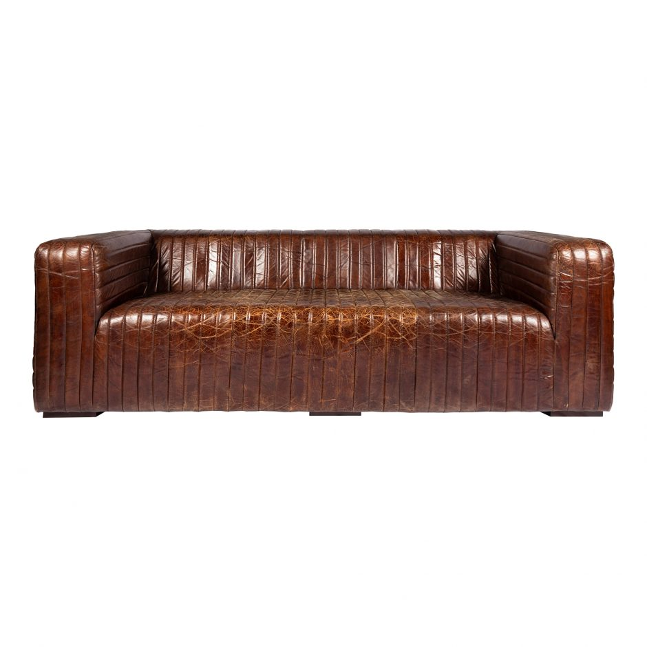 Cast Sofa Brown