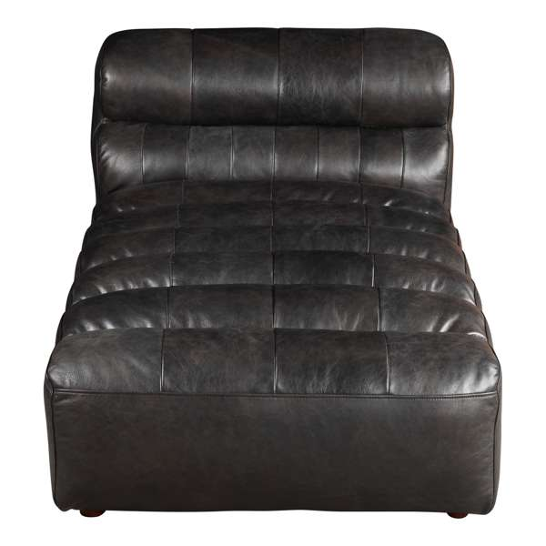 Leather Slipper Chaise Modular