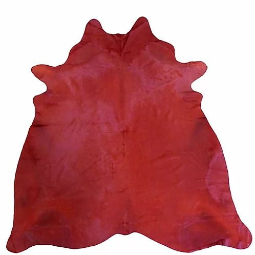 Red Dyed Cowhide