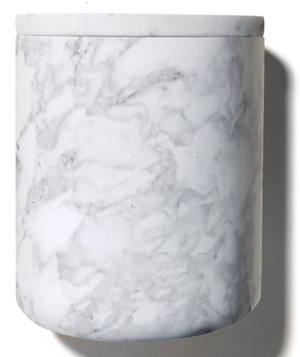 Carrara Marble Candle Holder