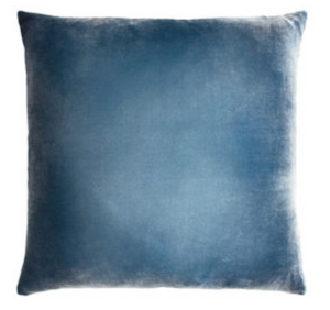 Denim Velvet Pillow