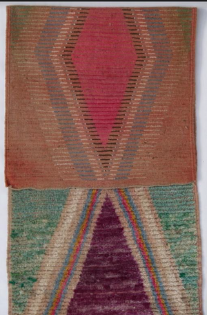 Abstract Moroccan Runner