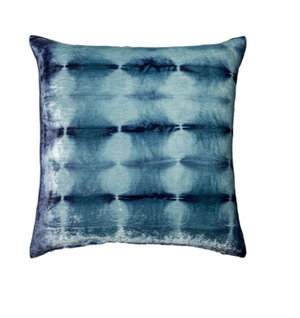 Rorschach Velvet Pillow in  Blueberry- 4 Size Variants