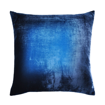 Ombre Velvet Pillow in Midnight- 8 Size Variants