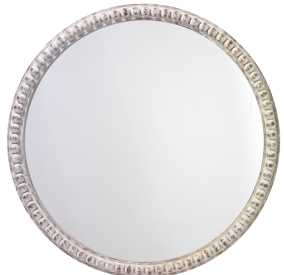 Audrey Beaded Mirror