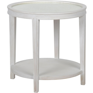 Imperial Mirror Top Side Table - 2 color variants