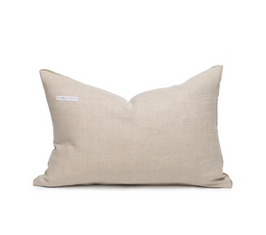 Tan Two Tone Small Lumbar Pillow
