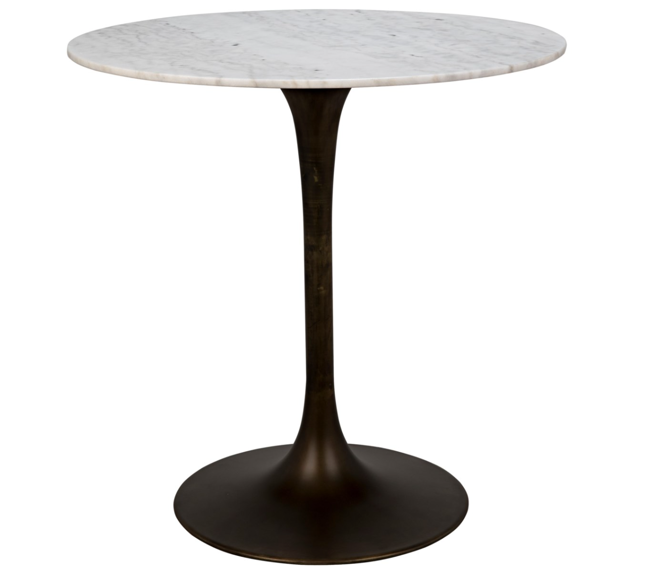 Laredo Bar Table- Dark Brass