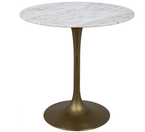 Laredo Bar Table- Antique Brass