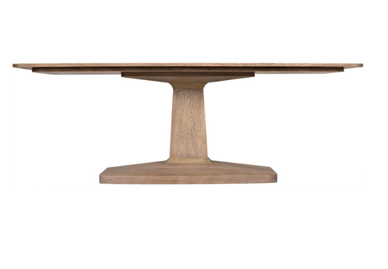 Travis Dining Table- Washed Walnut