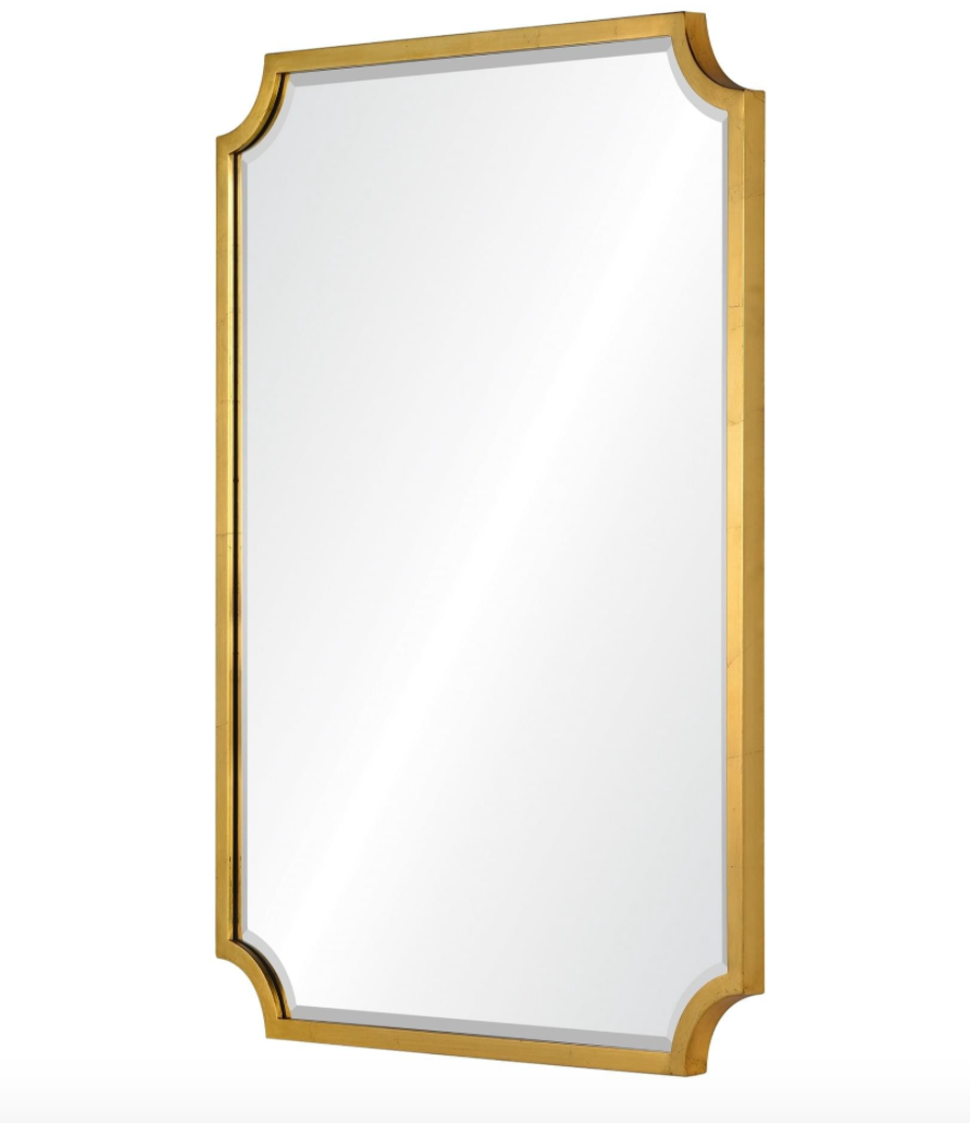 Plated Mirror- Gold