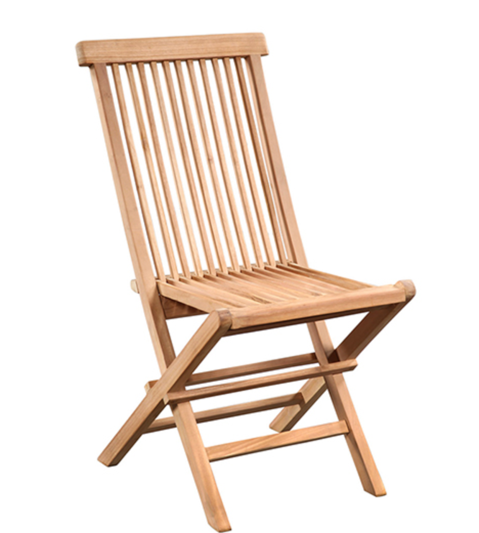 Ash Folding Outdoor Chair