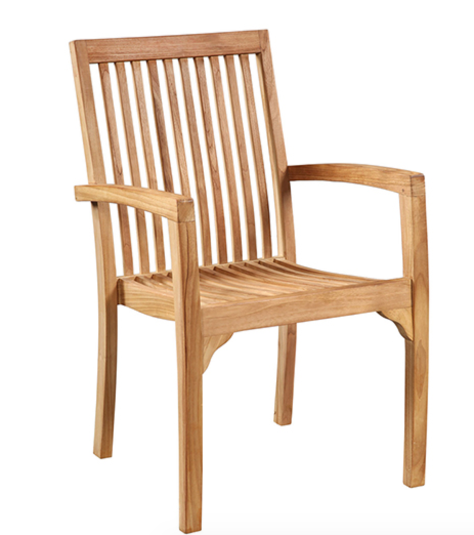 Ash Arm Outdoor Chair