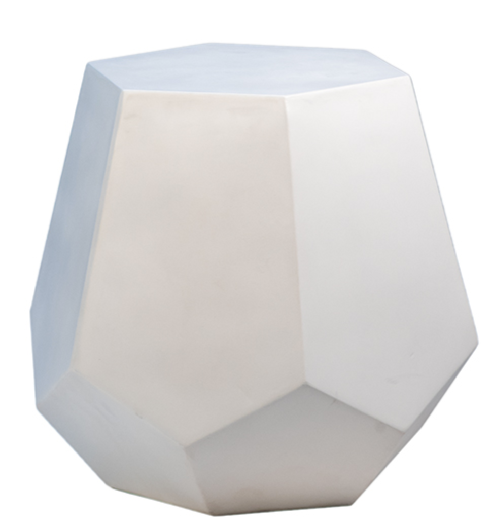 Cement Outdoor Stool