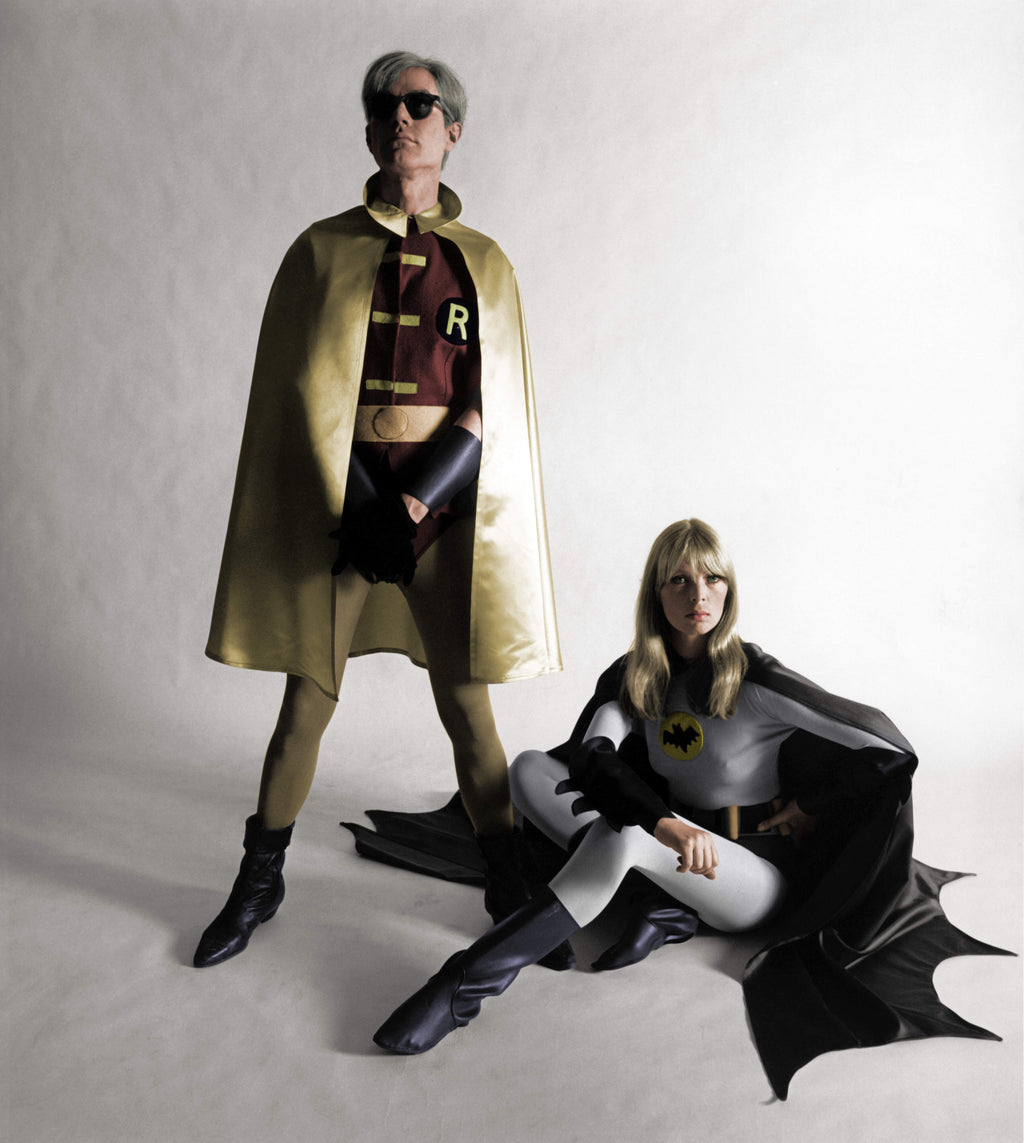 Andy Warhol as Robin