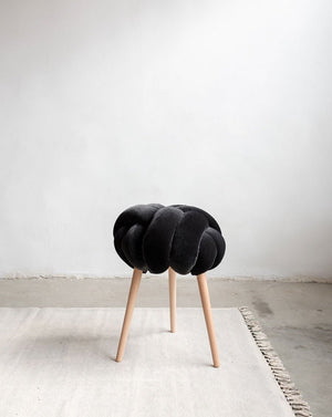 "18"" Knot Stool- 8 Color Variants"