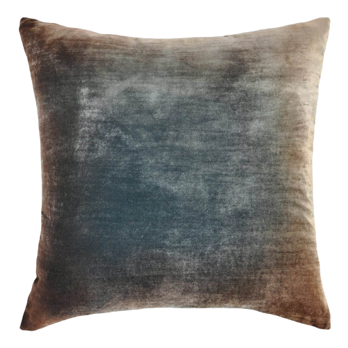 KB Gunmetal Velvet Pillow