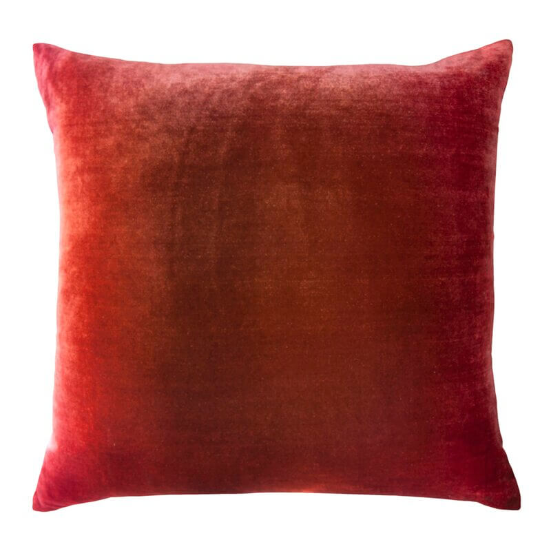 Wildberry Velvet Pillow