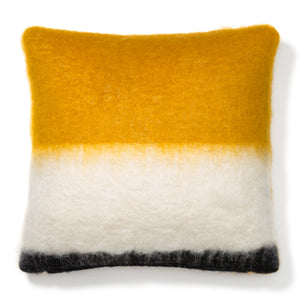 Yellow Mohair Pillow Case