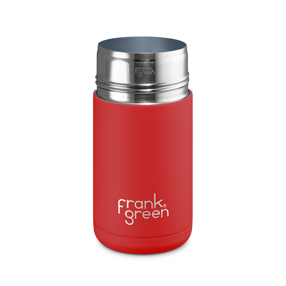 Frank Green Reusable Cup Next Generation 12oz Rouge