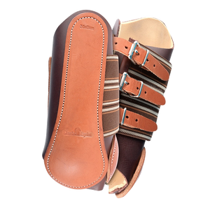 Leather Splint Boots
