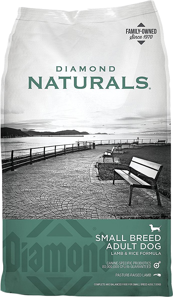 Diamond Naturals - Lamb & Rice Formula Small Breed Dog Food 18#