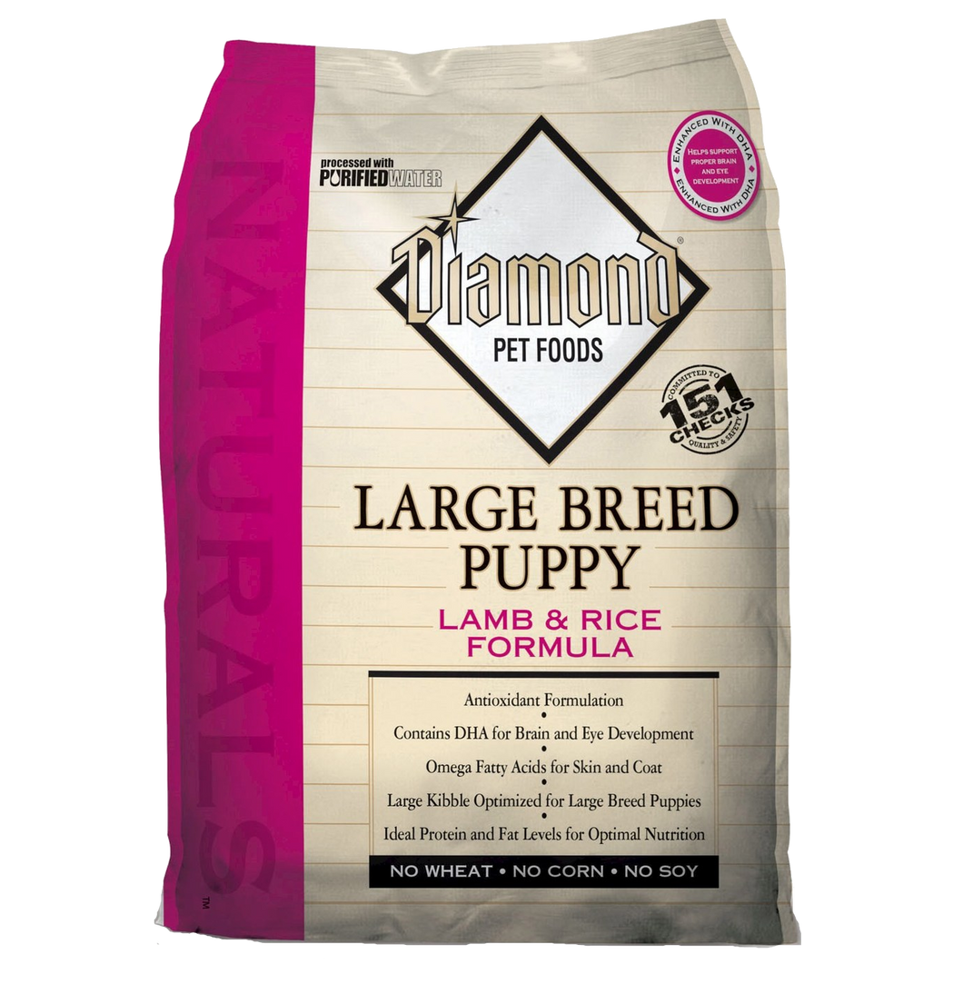 Diamond Large Breed Puppy Lamb & Rice 20#