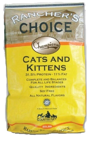 Rancher's Choice Cat Food 40#